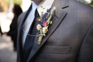 Non-Traditional Boutonniere Options