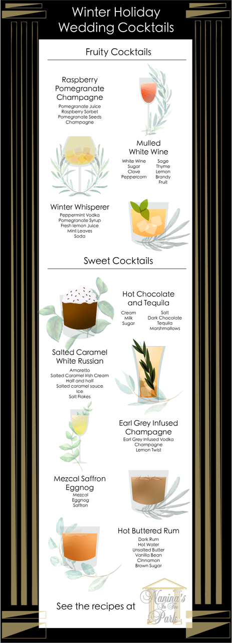 Winter Cocktails to Express Your Personality as a Couple